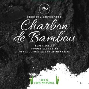 Charbon de bambou Super activé en poudre