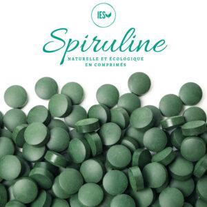 Spiruline en comprimés, naturelle et écologique