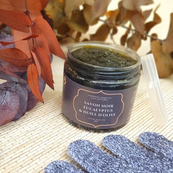 savon noir cosmetique naturel gomme soin de la peau