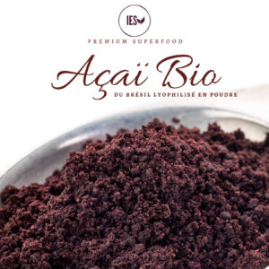 Açaï bio du Brésil en poudre 100g