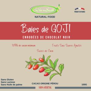 Baies de Goji au Chocolat noir