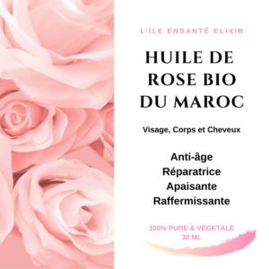 Huile de Rose Bio du Maroc, 30ml