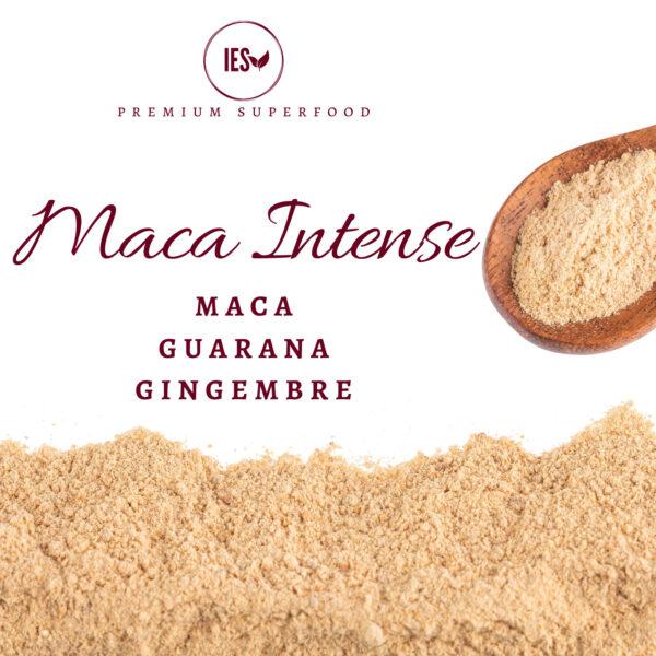 maca en poudre associé au gingembre et au guarana