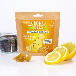 Bonbecs Citron-Graines de Chia Bio