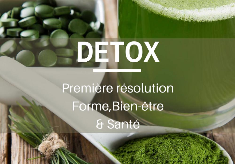Première résolution Santé & Bien-être: la cure Détox