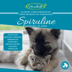 Spiruline Naturelle pour animaux de compagnie