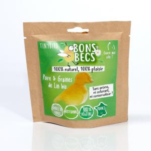 Bonbecs Poire -Graines de Lin Bio