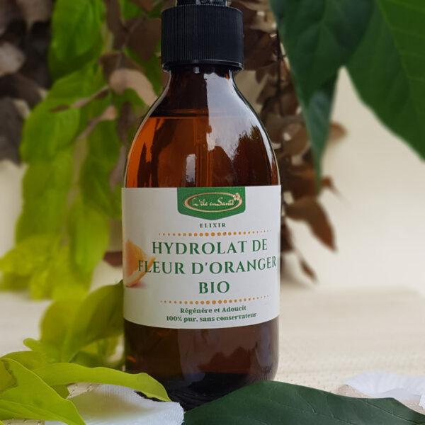 hydrolat fleur d'oranger bio eau florale détente anti stress peau sensible