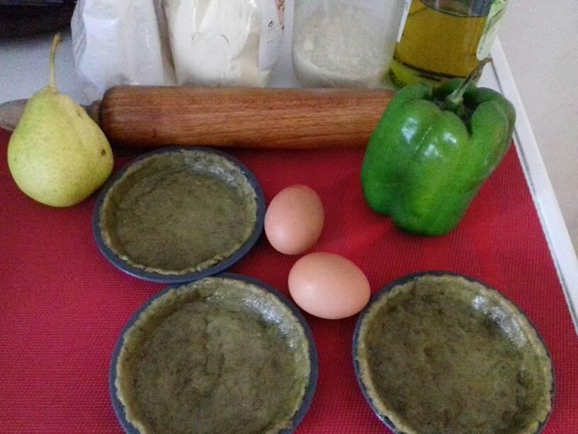 préparation pâte brisée au moringa