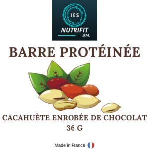 Barre protéinée cacahuète-chocolat 36g
