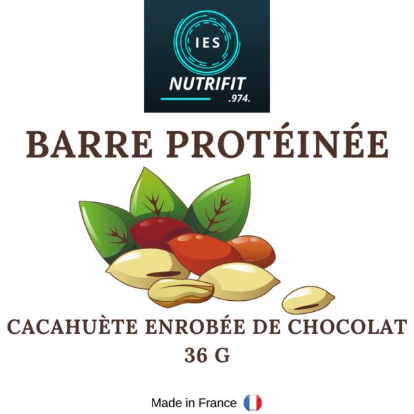 barre protéinée cacahuète-chocolat