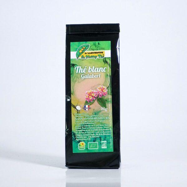 thé blanc bio galabert