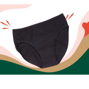 Culotte Menstruelle FAVA coton Bio