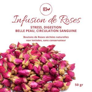 Boutons de Rose pour infusion 50g