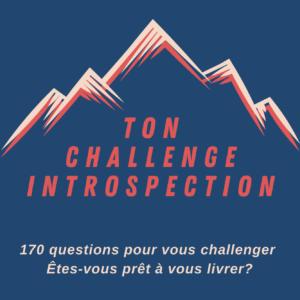 Livre Ton Challenge Introspection 170 questions