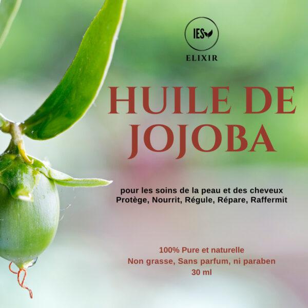 huile vegetale jojoba bio naturelle pure