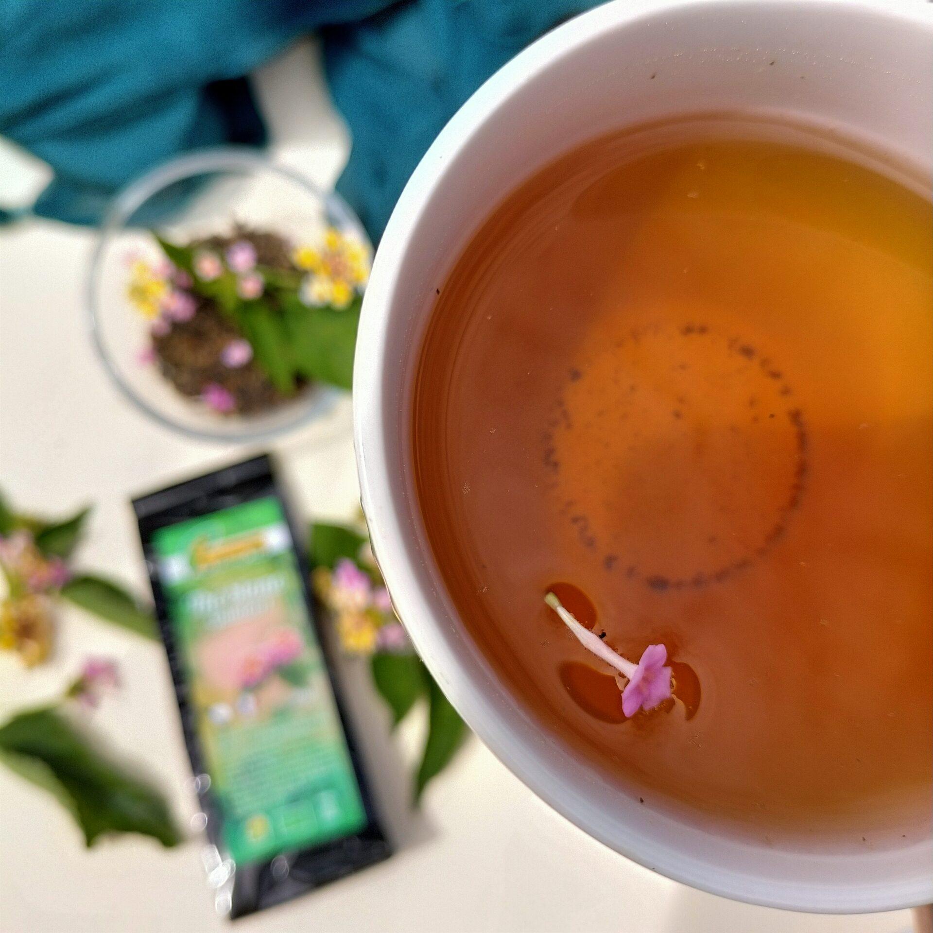 thé blanc bio au galabert de la réunion